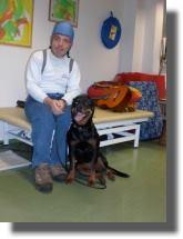 Hundeeinsatz als Therapie