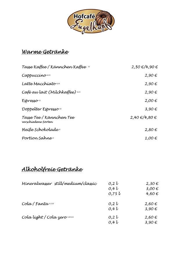 Getränke Landseehof