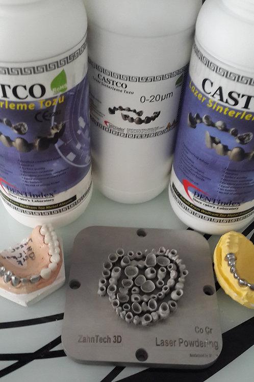 CASTCO Kobalt Krom Toz Metali
