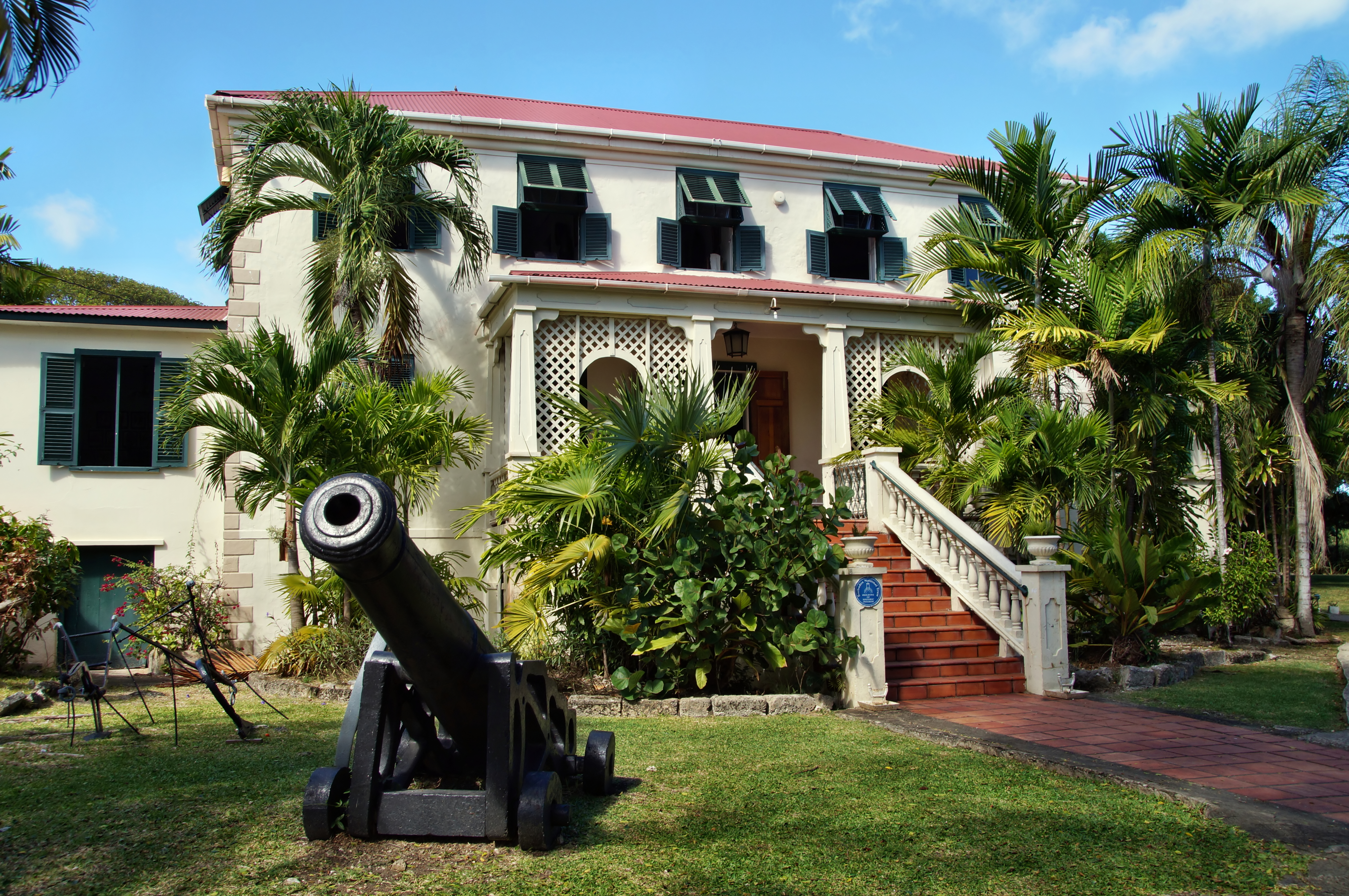Sunbury Plantation house, Barbados, Cari