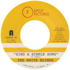 "SING A SIMPLE SONG / KLAPP BACK 7"""