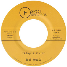 """PLAY A FOOL / SHAPE OF YOUR LOVE 7"""""""