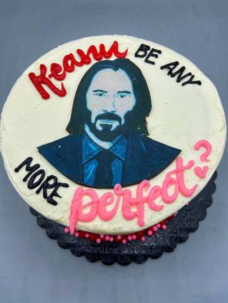 Keanu Reeves Cake