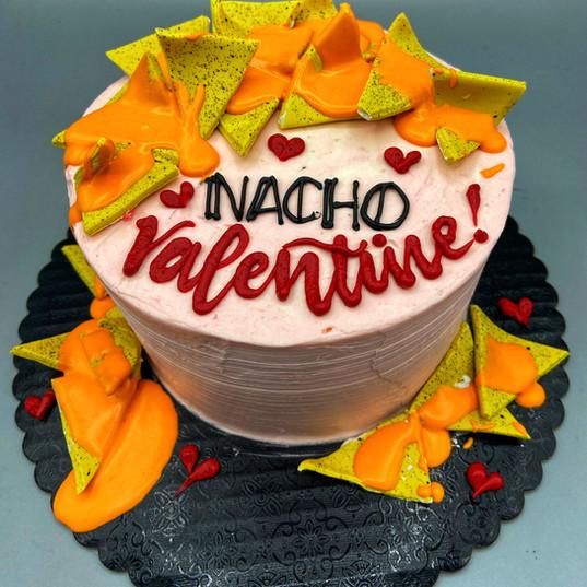 Nacho Valentine Cake