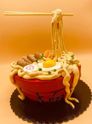 Sushi Bowl Cake