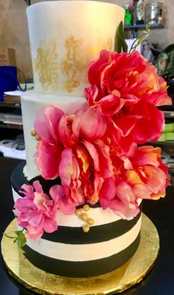 3 tier floral