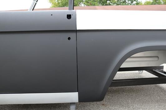 Bronco rear end door gaps