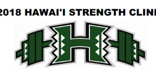2018 Hawaii Strength Clinic