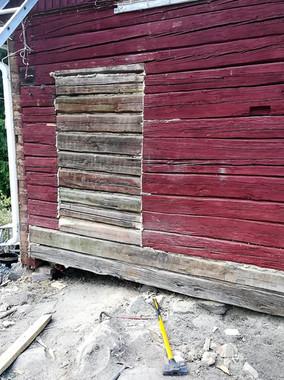 Hirsirakennusten korjaukset