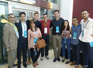 From left to right: Mahmud Samandari, Mario Reyes Castro, Carmen, Joan, Alex Cabon, Andrei, Rhianna, , Ferdinand M. Fox