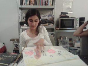 Shidrukh facilitating a study circle