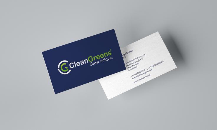 CleanGreens / évolution de la marque