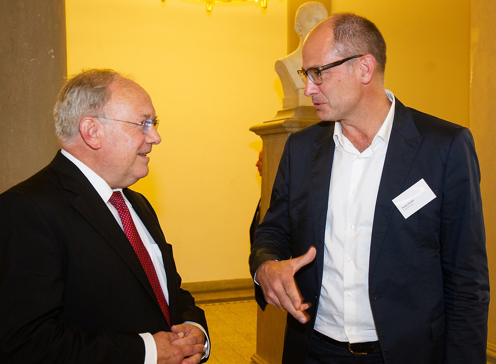 Exchanging on the future of agriculture with Bundesraat Johan Schneider-Ammann