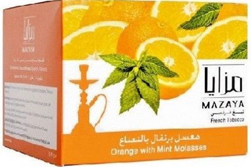 MAZAYA MOLASSES (ORANGE - MINT )