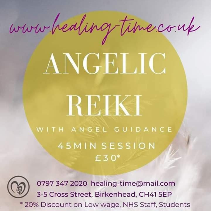 Angelic Reiki & Angel Guidance