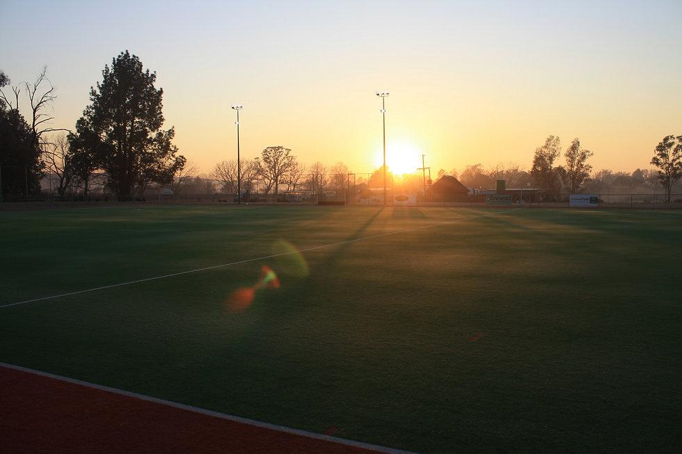 Hockey Farm Turf at Sunrise