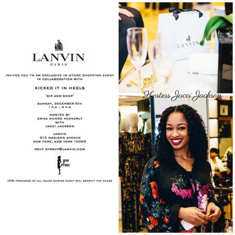 Lanvin Breast Cancer Event