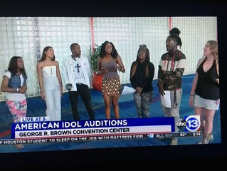 Magnolia Silks featured during this years American Idol auditions in Houston, Texas!