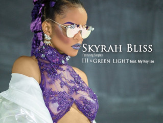 Check out HOT new artist SKYRAH BLISS rocking Magnolia Silks custom shades!!!