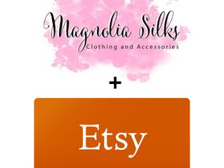 Magnolia Silks meets ETSY