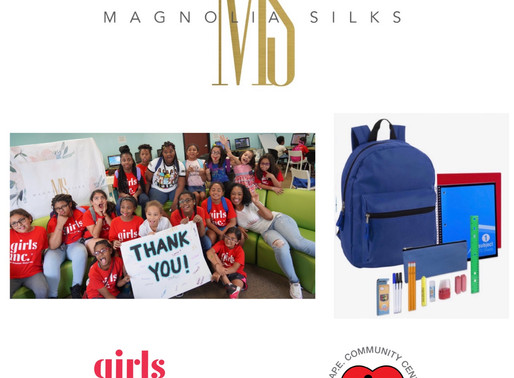 Magnolia Silks' back to school fundraiser!!