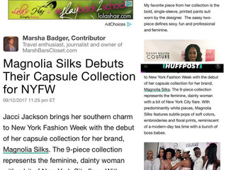 HUFF POST: Magnolia Silks Debuts Their Capsule Collection for NYFW