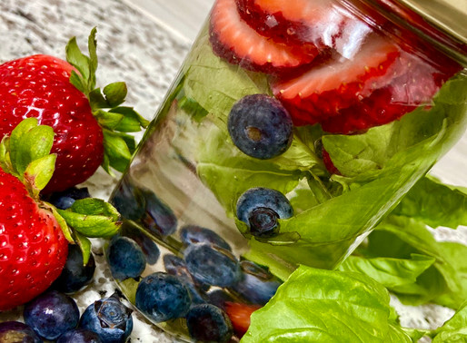 Berry DETOX water 💧🍓🍃