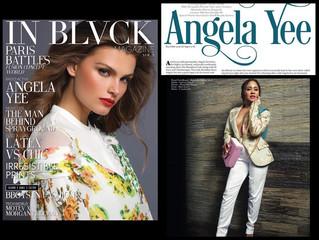 In Black Magazine X Magnolia Silks X Angela Yee ❤️