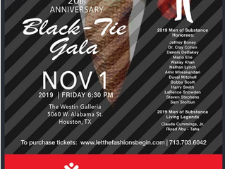 LET THE FASHIONS BEGIN Men of Substance Gala