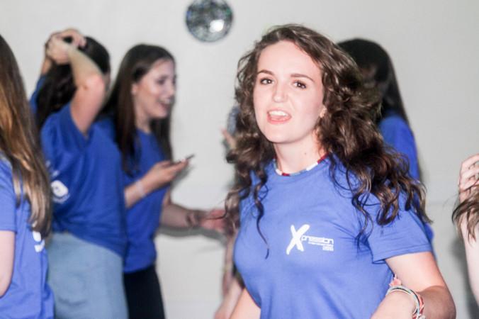 Becky Dancing
