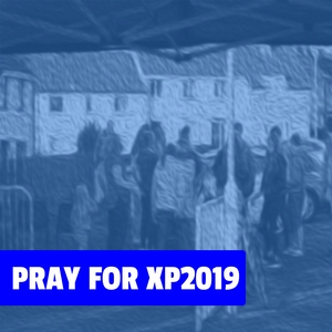 """Title Image with """"Pray for Xpression 2019"""""""