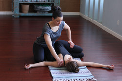 Assisted Spinal Twist
