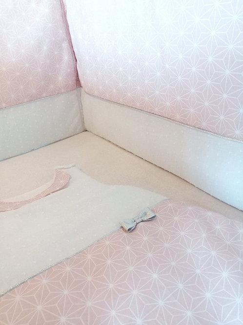 Tour de lit Asanoha