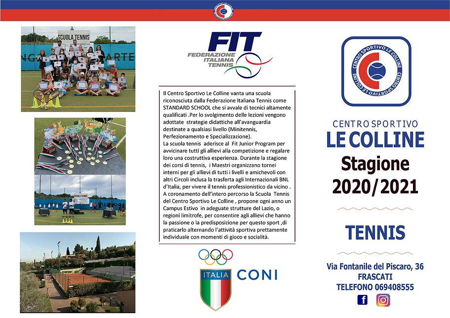 BROUCHURE LE COLLINE 2021 TENNIS_Pagina_