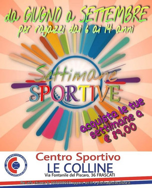 Settimane Sportive 2021