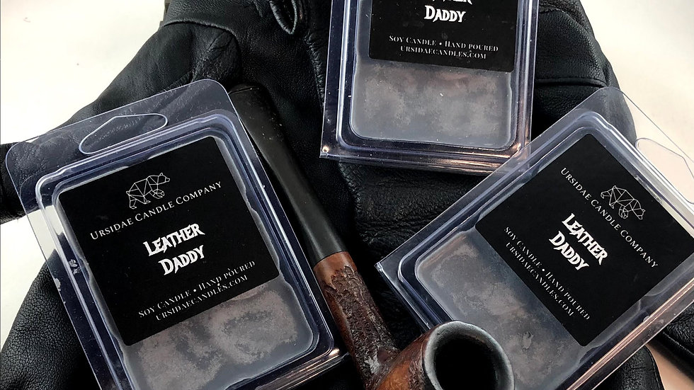 Leather Daddy- Wax Melts