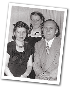 Irena, Stanley and Barbara Sobkowiak