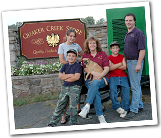 Mateszewski family Quaker Creek Store