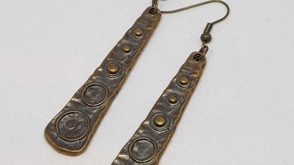 Antique Bronze Earrings