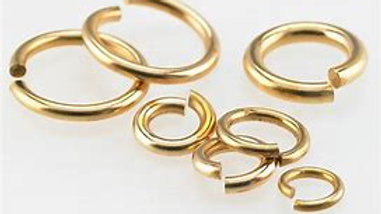 Gold Plated Jump Rings