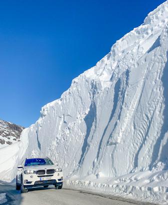 Road to Folgefonn glacier
