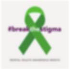Green Bow signifiying Mental Health Awar