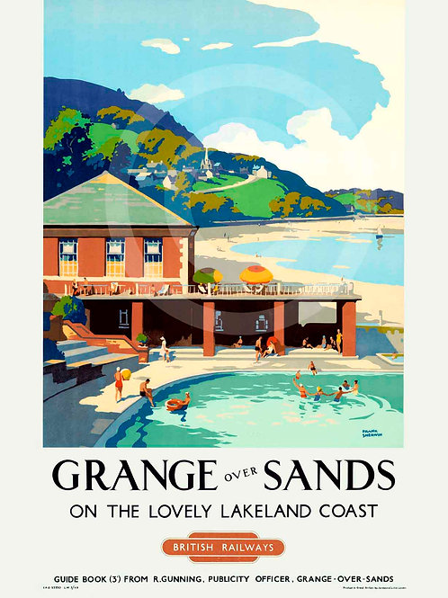 Grange-Over-Sands British Railways Giclée Print