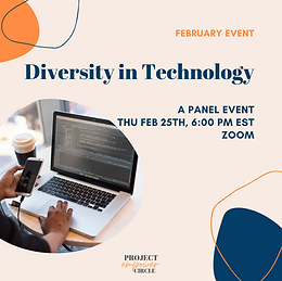 Diversity in Technology Panel Event