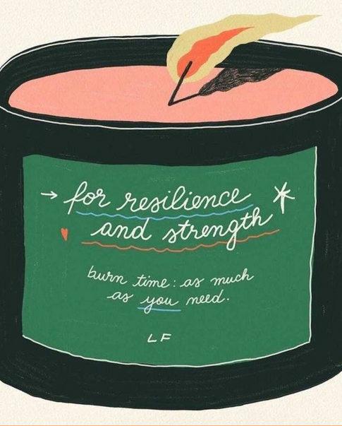 resilience candle