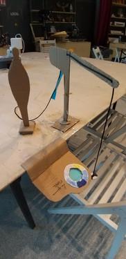 paper prototype of turbidity measurement game