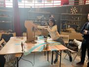 presenting the paper prototype