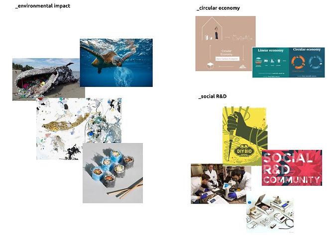 bioplastic inspiration - science and soc