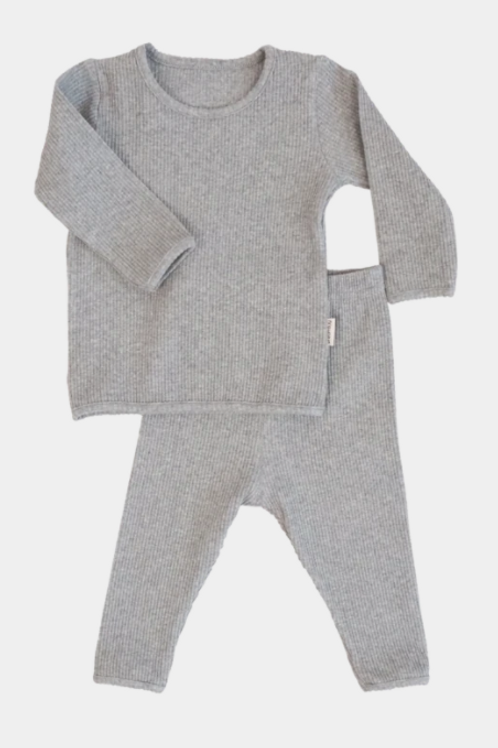Ribbed Loungewear - Quill Grey