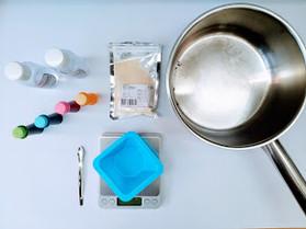 2. Materials and Tools of making gelatin-based bioplastic